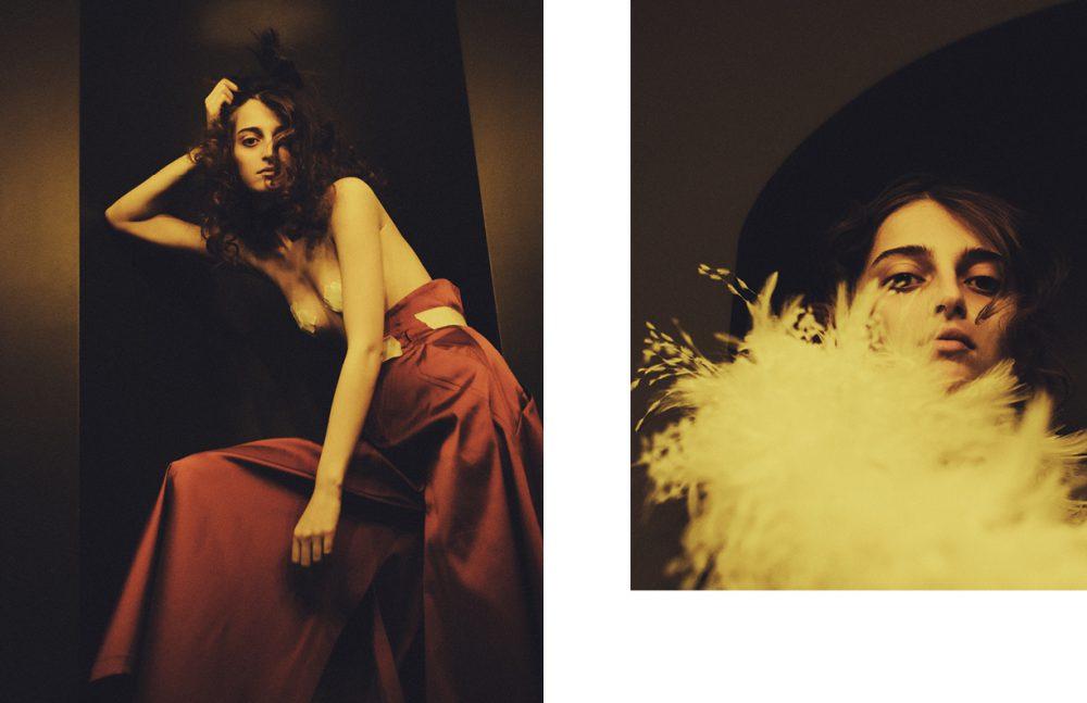Trousers / Irakli Opposite  Dress / Ludovic Winterstan