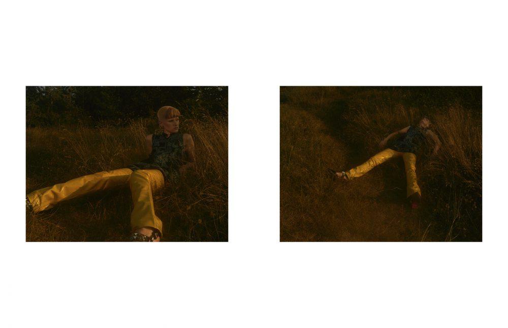 Dress / M Missoni Trousers / 2ND DAY Choker / Choke Chokers Shoes / Christian Louboutin