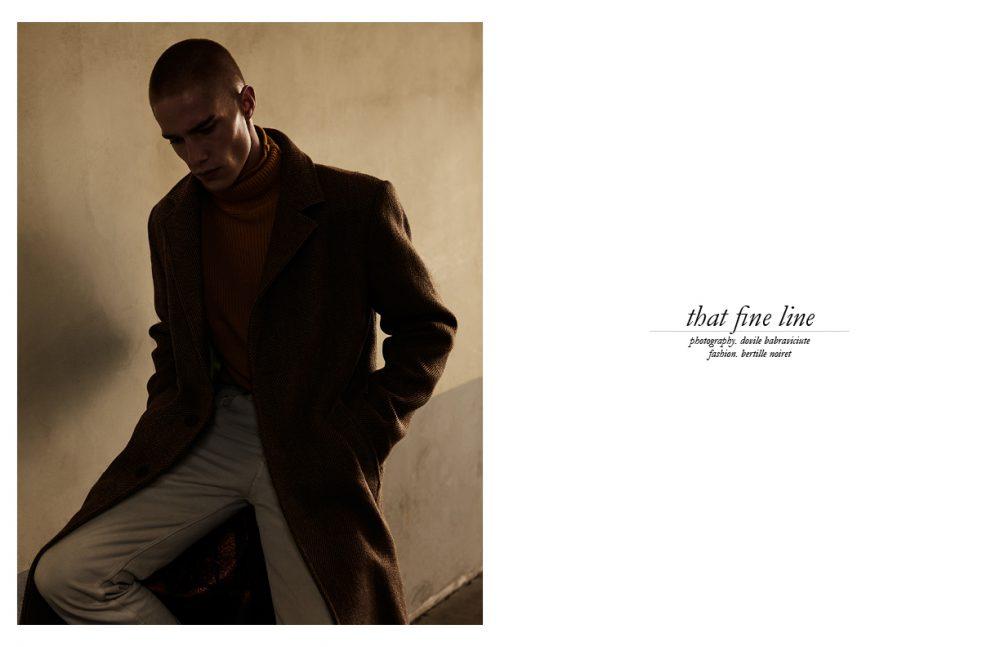 Coat & Turtleneck / Agnès B FW16 Jeans / Levi's FW16 Belt / Espace Kiliwatch FW16