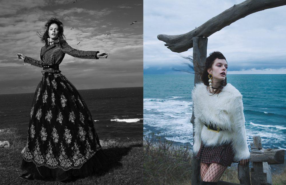 Jacket / Dsquared2 (via Beymen) Belt / Raisa Vanessa Dress / Tuvanam (via A46) Opposite Blouse / Natalie Kolyozyan Skirt & Boots / ZARA Belt / Raisa Vanessa Earrings / ElifŞimal Fashion Art