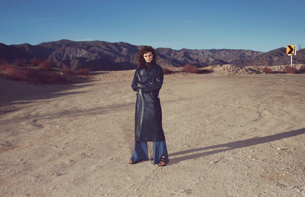 Jacket, Turtleneck, Trousers & Shoes / Céline