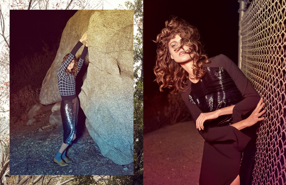 Top / Akris Skirt / Pamella Roland Socks / Wolford Shoes / Creatures of The Wind Opposite  Dress / Pamella Roland