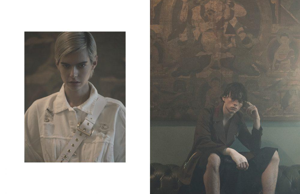 Jacket / Diesel Belt / Vivienne Westwood Opposite Jacket / Antonio Marras Shorts / Craig Green
