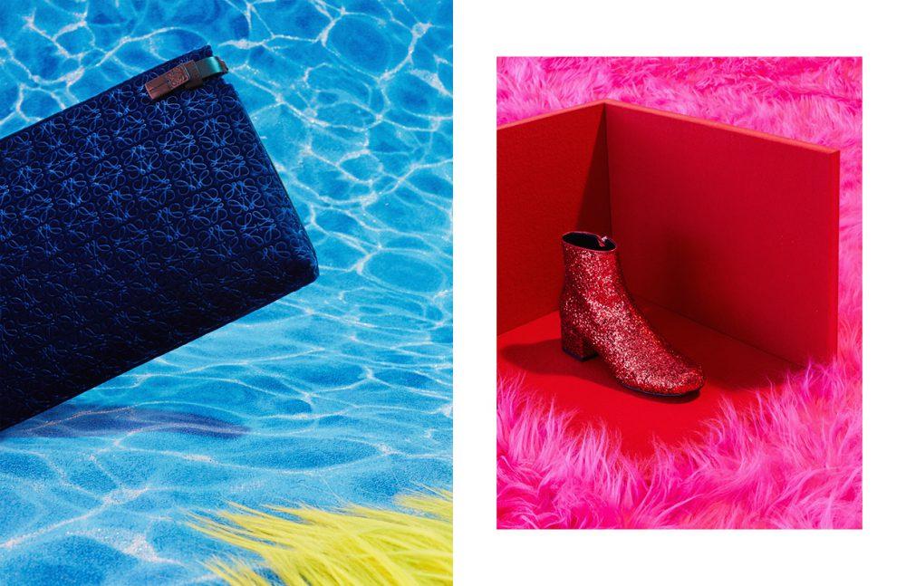 Bag / LOEWE Shoe / Saint Laurent