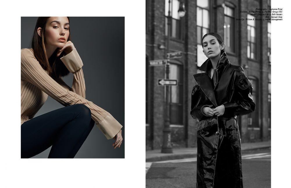 Top & Trousers / Céline Opposite Coat / Lanvin Shirt / Alexander Wang