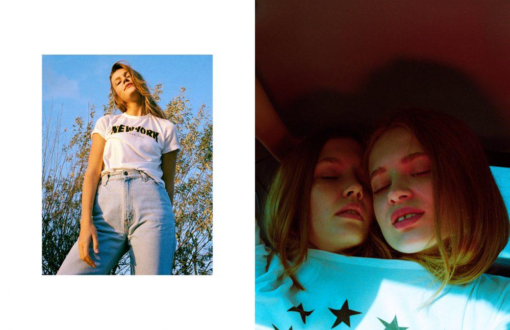 T-Shirt / West LA Jeans / Levi's Opposite T-Shirt / FCUK