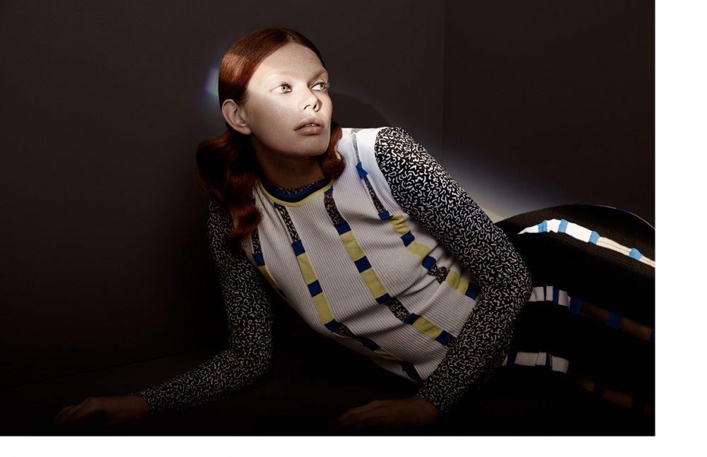 Long Sleeve / Max Mara Top & Skirt / Versace