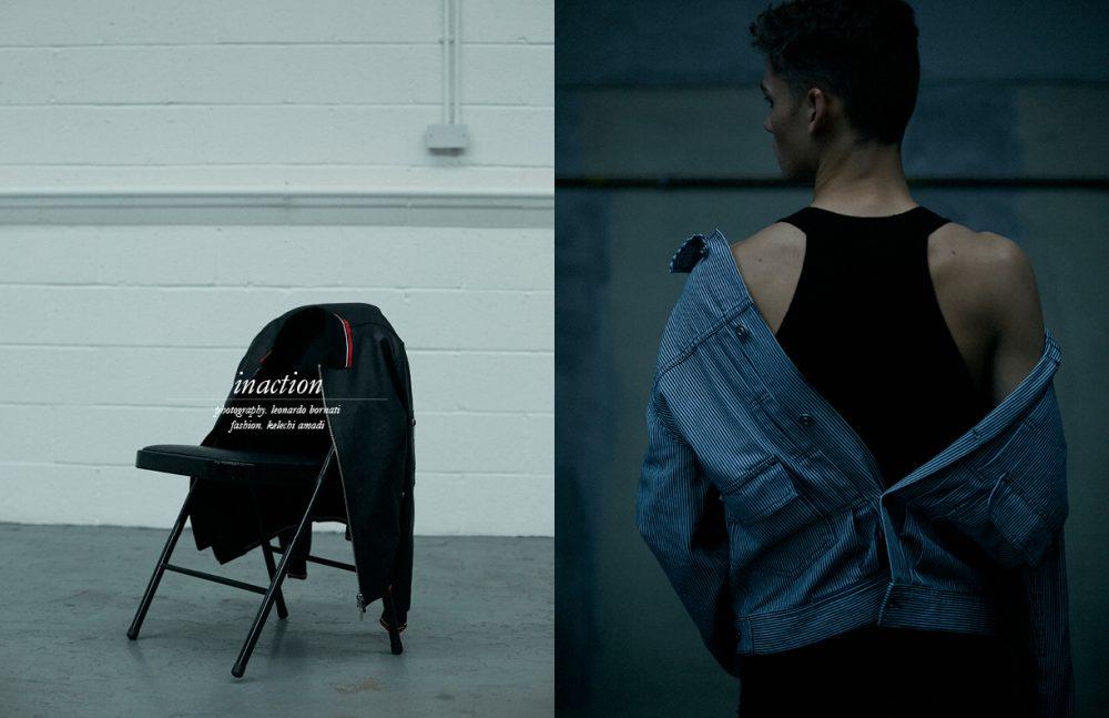 Jacket / Dior Homme Jacket / Maison Kitsuné Jumpsuit / MANDKHAI