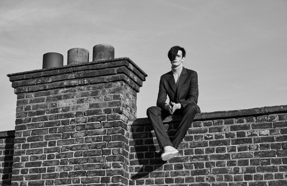 Jacket & Trousers / Hardy Amies Polo / Aquascutum Shoes / Number 228
