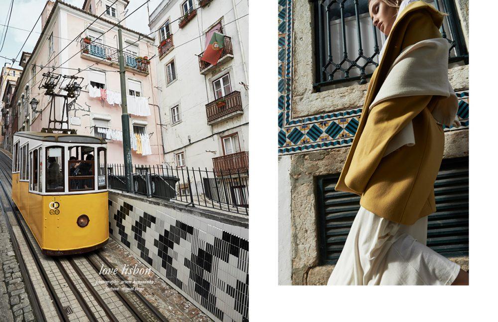 Coat / Miguel Vieira Scarf & Skirt / Susana Bettencourt