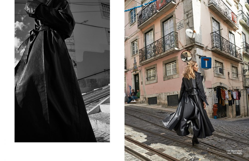 Coat / Boyarovskaya Opposite Coat / Boyarovskaya Shoes / Luis Onofre