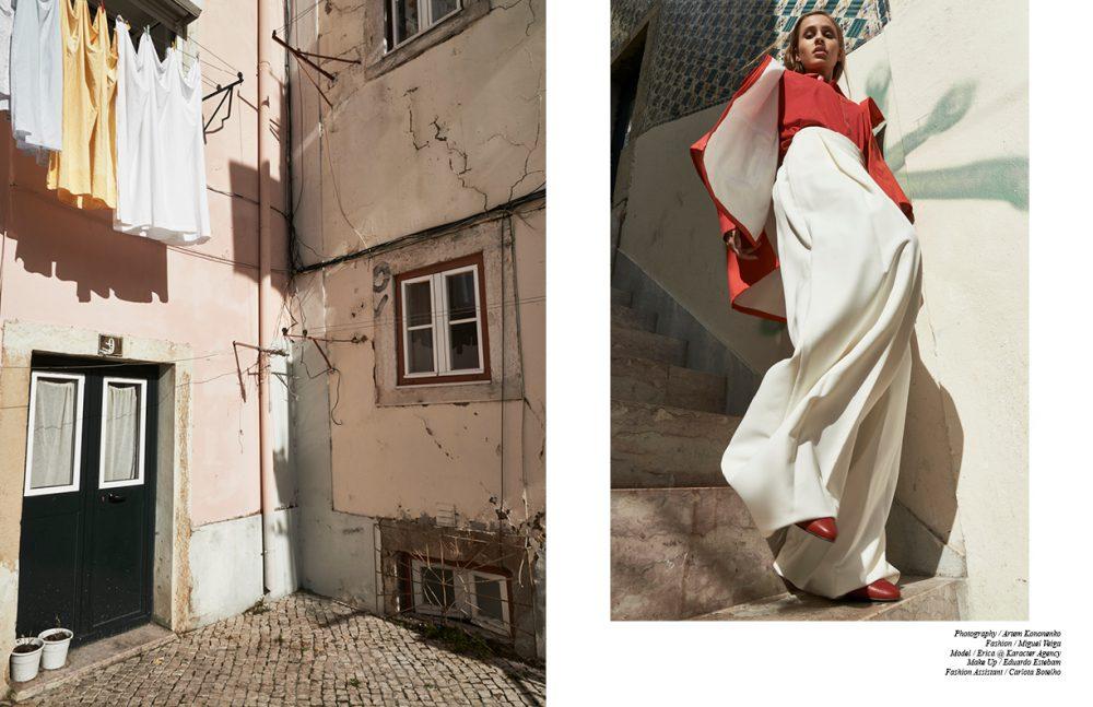 Shirt / BANDA Coat / Converse Trousers / Miguel Vieira Shoes / Fly London