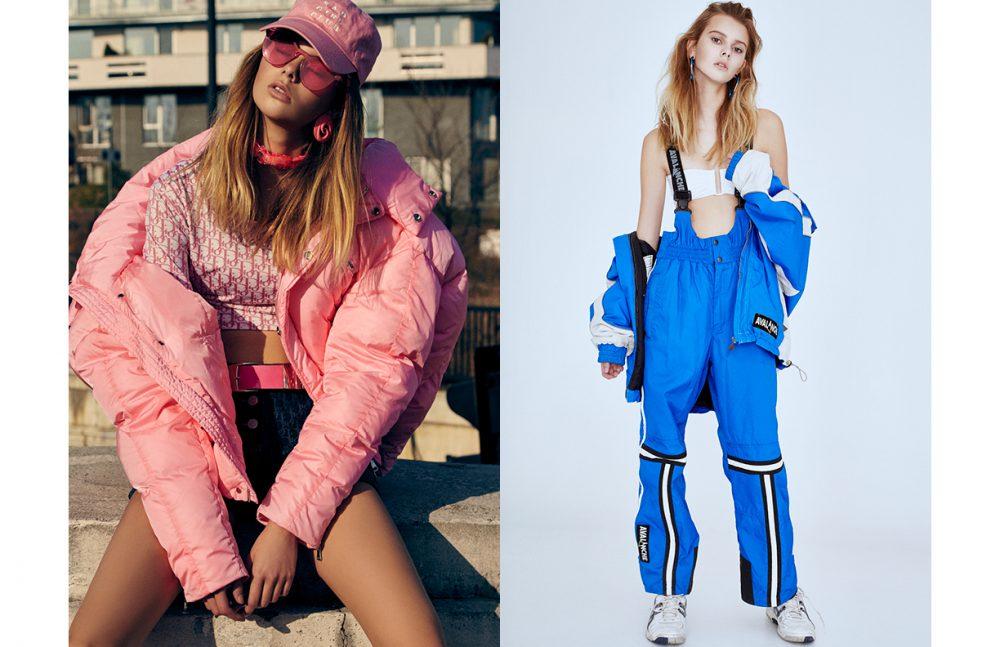 Jacket / Chen Peng T-Shirt & Shorts / Christian Dior Belt / Versace Sunglasses / ESQAPE Opposite Snow Suit / Avalanche Swim Top / Eres