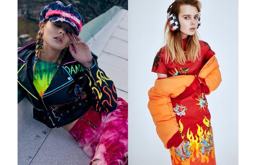 Full Look / COOL KOALA Opposite Jacket / Vetements Dress / Atelier Wonder