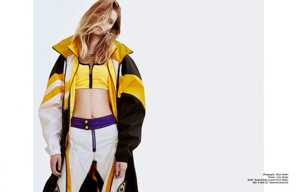 Jacket / Mark Antoine Top / COOL KOALA Trousers / Fox