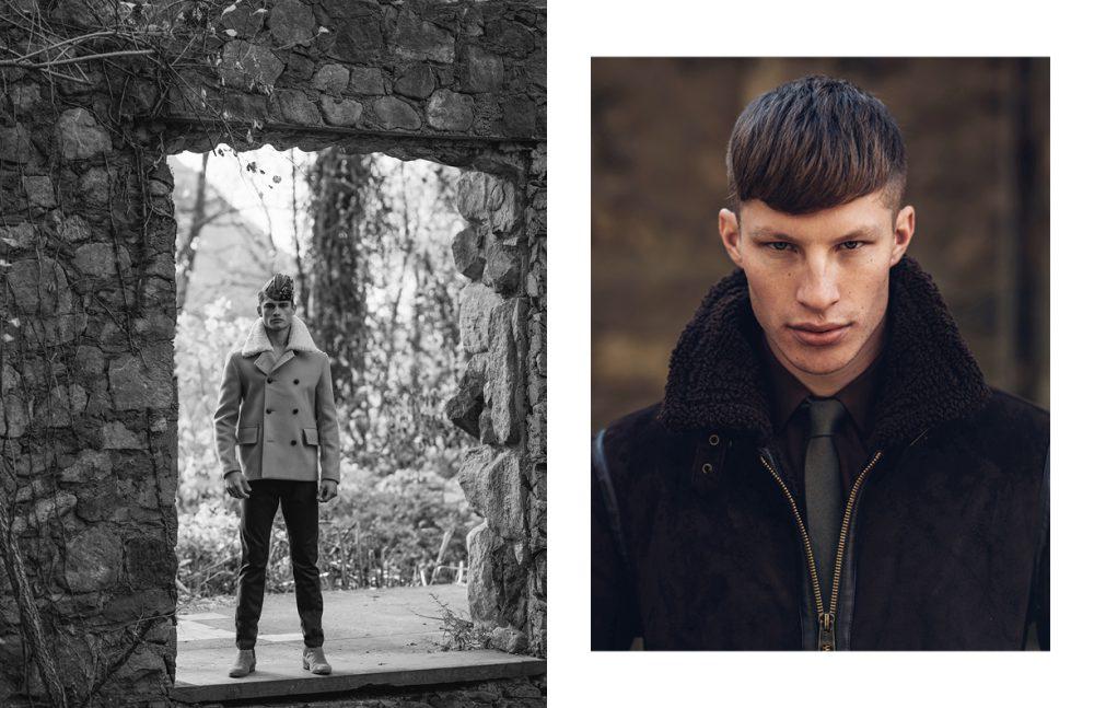 Jacket & Trousers / Burberry Shoes / Saint Laurent Opposite Jacket / Burberry Shirt & Tie / Saint Laurent