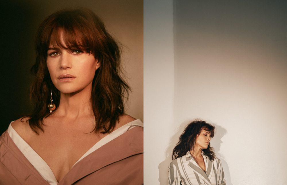 Shirt / Camilla and Marc Trench coat / Jil Sander Navy Earring / Mounser Opposite Blazer / 3.1 Phillip Lim Earring / Jennifer FisherEarring