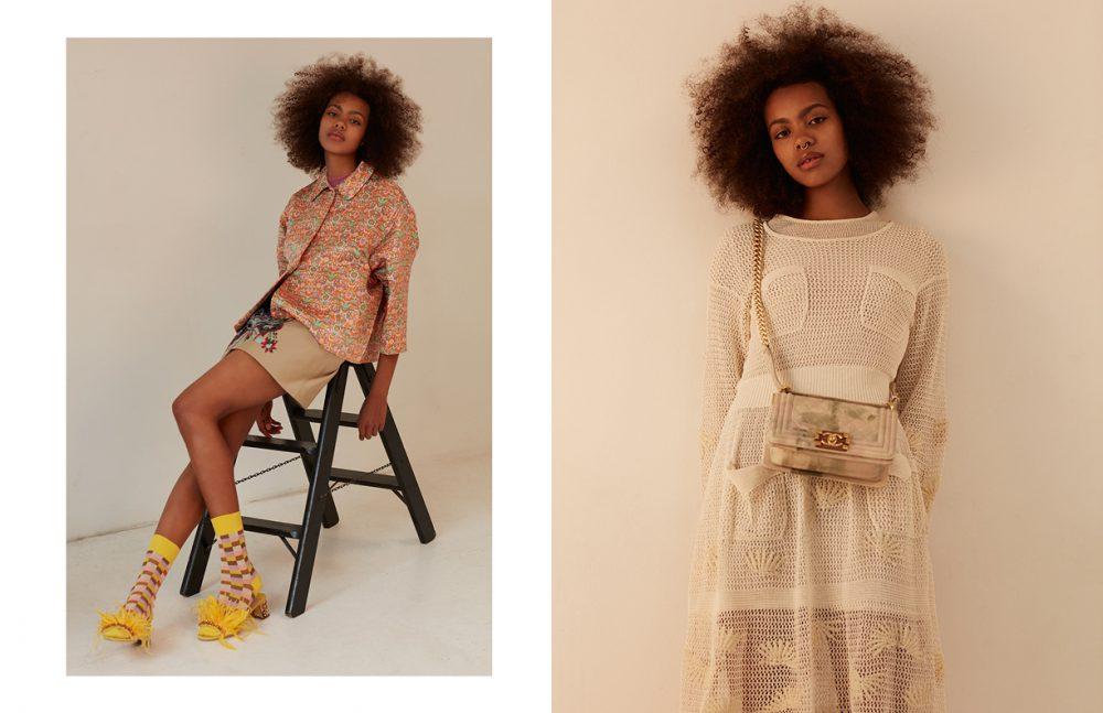 Full Look / Miu Miu Opposite Full Look / Chanel