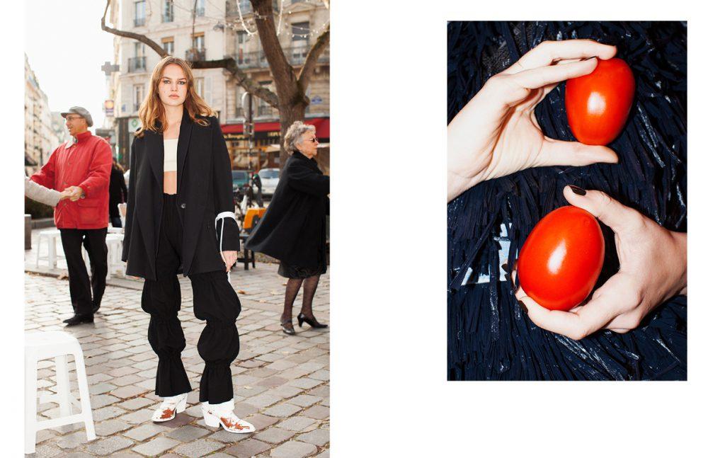 Jacket 1 & Shoes / MM6 Jacket 2 / Lutz Huelle Top / Neith Nyer Trousers / AFTERHOMEWORK(PARIS)