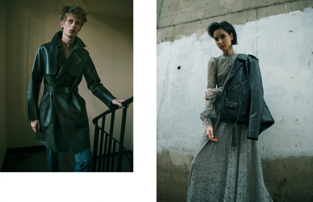 Coat / Pal Zileri Jumper & Trousers / The Kooples Opposite Jacket / BLK DNM Dress / Luisa Beccaria
