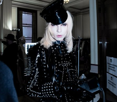 Pam Hogg. Photo by Jordan Eisbjerg