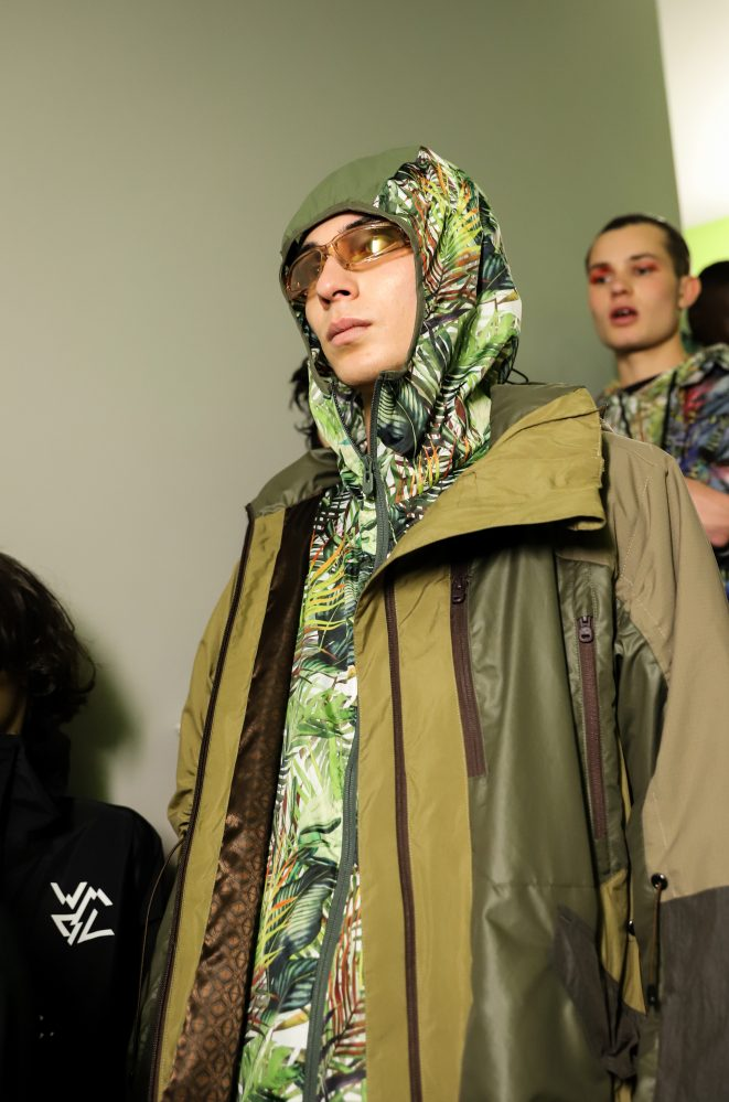 White Mountaineering SS20. Photo by Ada Yang.