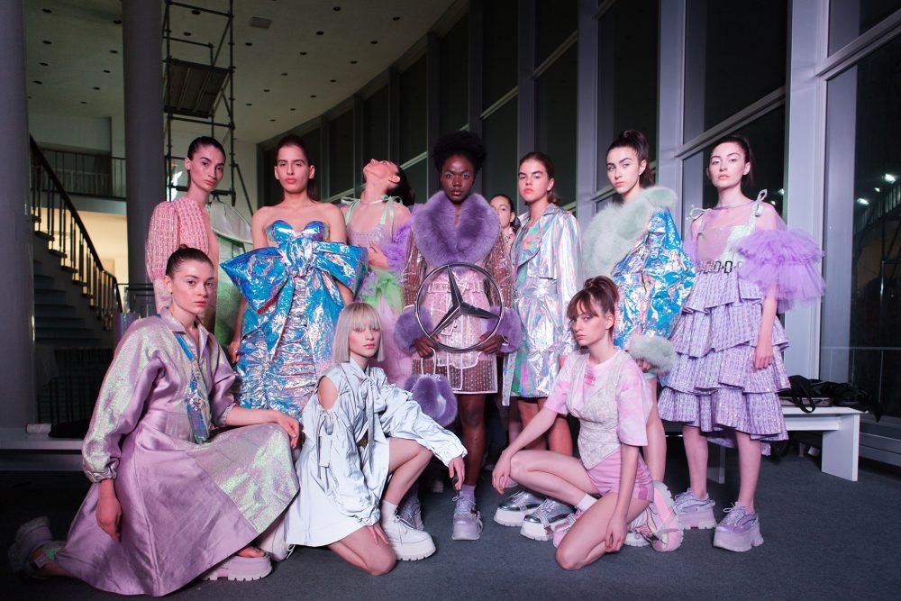 Mercedes-Benz Fashion Talents Dominnico Editorial - MBFW Tbilisi SS20